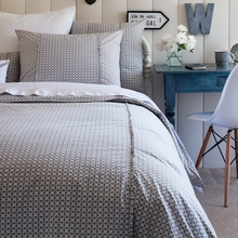 Gray Hartford Duvet Cover