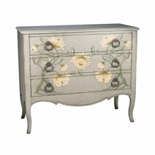 Gray Painted Mum Chest