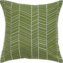 Green Arrow Throw Pillow
