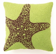 Green Big Starfish Hook Pillow