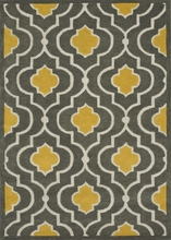 Grey Gold Brighton Rug