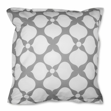 On Sale Grey Hollywood Euro Sham Pair