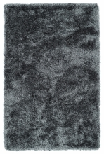 Grey Posh Shag Rug