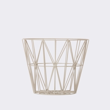 Grey Small Wire Basket
