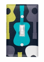 Groovy Guitar Light Switch Plate Cover