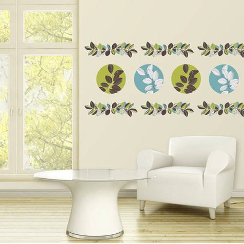 district17 habitat stripe wall decals wall decals