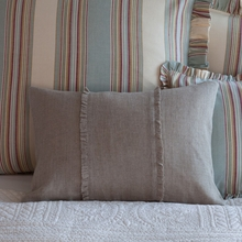 New Haven Linen Boudoir Pillow