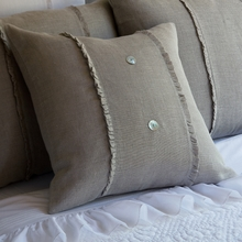 New Haven Linen Porch Pillow