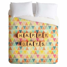 Happy Days Lightweight Duvet Cover