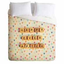 Happy Ever After Lightweight Duvet Cover