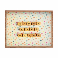 Happy Ever After Rectangle Tray