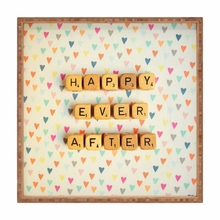 Happy Ever After Square Tray