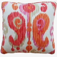 Happy Orange Throw Pillow
