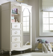 Harriette Mirrored Door Chest