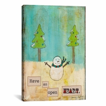 Have An Open Heart Canvas Wall Art