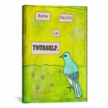 Have Faith In Yourself Canvas Wall Art