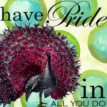 Have Pride in All You Do Canvas Art