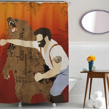 Haymaker Shower Curtain