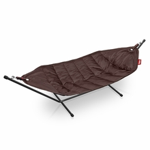 Fatboy Headdemock In Brown with Black Rack Beanbag
