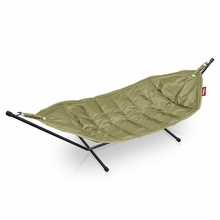 Fatboy Headdemock In Olive with Black Rack Beanbag