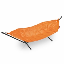 Fatboy Headdemock In Orange with Black Rack Beanbag