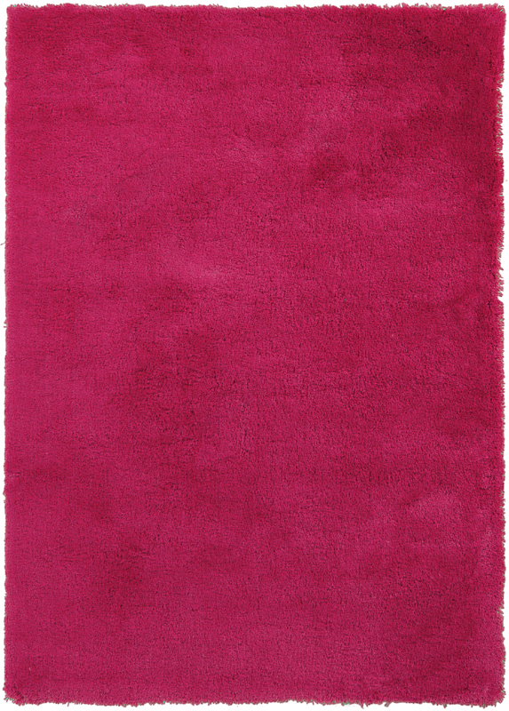 Heaven Shag Rug In Hot Pink