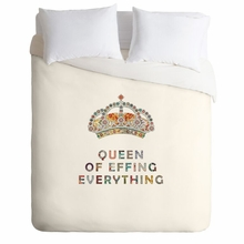 Her Daily Motivation Lightweight Duvet Cover