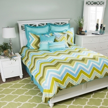 Hippie Chic Teal Bedding Set