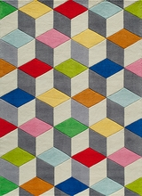 Hipster Colorful Block Rugs