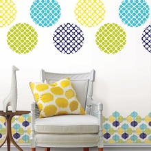 Hollywood Dot Wall Decals