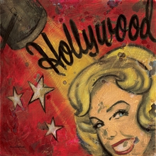 Hollywood Starlet Canvas Wall Art