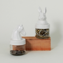 Horse & Rabbit Jars Collection