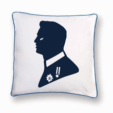 HRH the Prince Reversible Throw Pillow