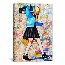 I'll Be The Kid With The Big Plans Canvas Wall Art
