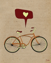 I Love to Ride Canvas Wall Art