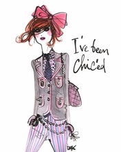 I've Been Chic'ed Poster Wall Decal