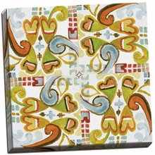 Ikat Tile I Canvas Wall Art