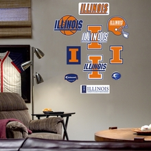 Illinois Logo Wall Decals