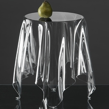 Illusion Side Table in Clear