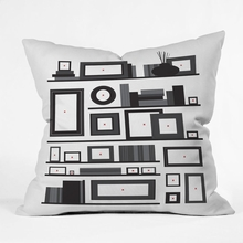 Image Not Found Throw Pillow
