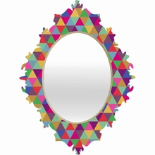 In Love With Triangles Baroque Mirror