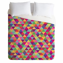 In Love With Triangles Lightweight Duvet Cover