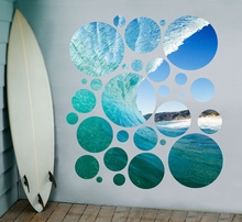 In The Barrel Portal Wall Stickers