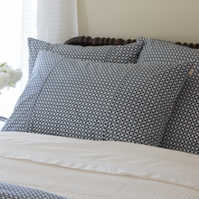 Navy Hartford Pillow Sham