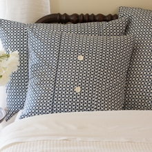 Navy Hartford Porch Pillow