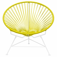 Innit Chair - Yellow Weave
