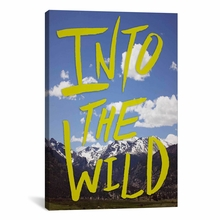 Into the Wild II Canvas Wall Art