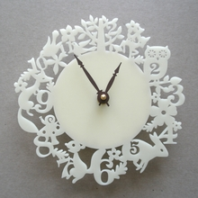 It's My Forest Ivory Wall Clock