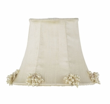 Ivory Pearl Burst Chandelier Shade