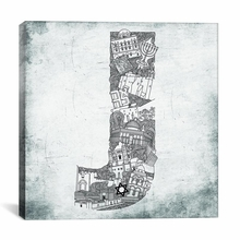 Jerusalem Canvas Wall Art